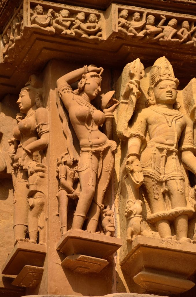 erotic sculptures of Khajuraho