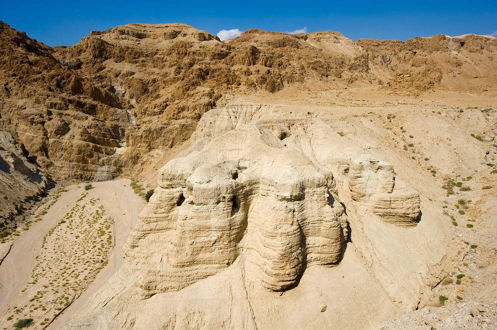 Dead Sea Rolls Caves in Israel