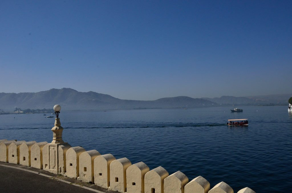 Lake Pichola in Udaipur, Rajasthan