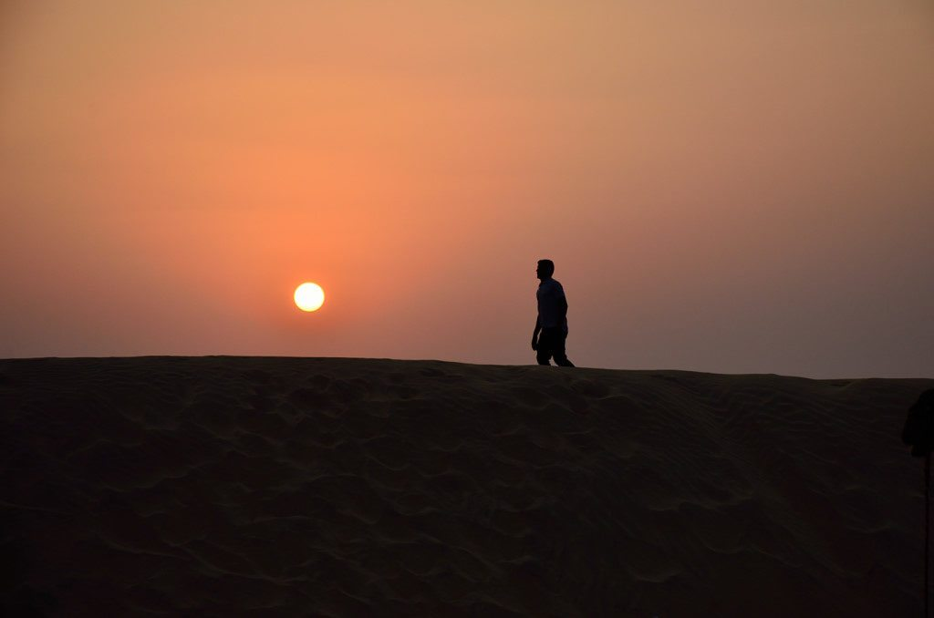 Sunset in Rajasthan