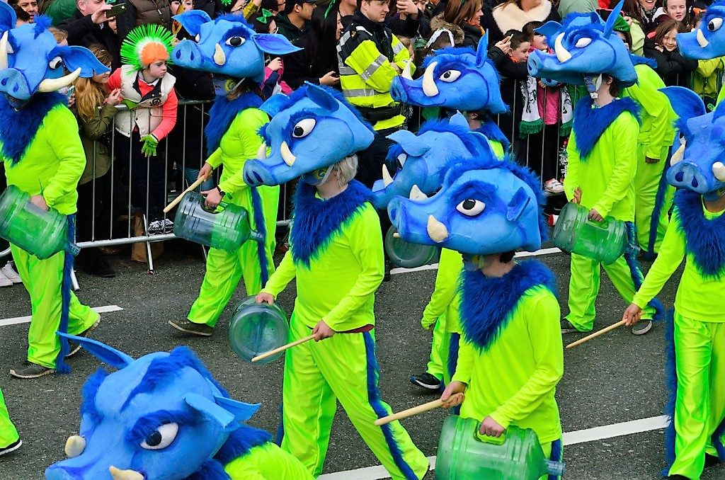 Dublin St Patricks Day parade