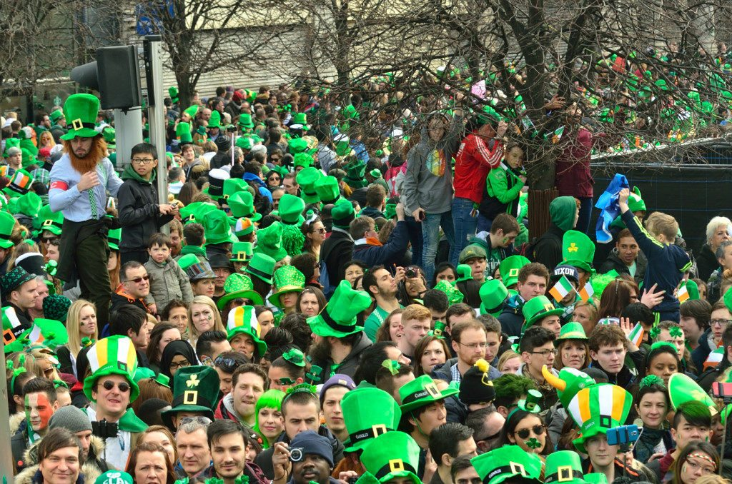 St Parricks Day parade Dublin