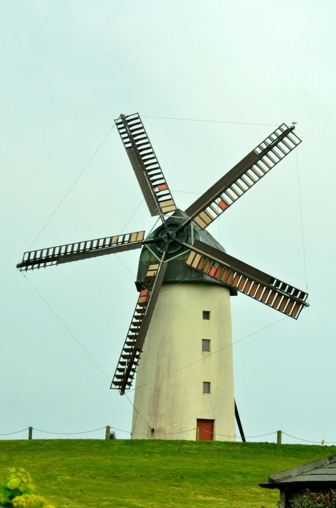 Dublin to Skerries - mill at Skerries