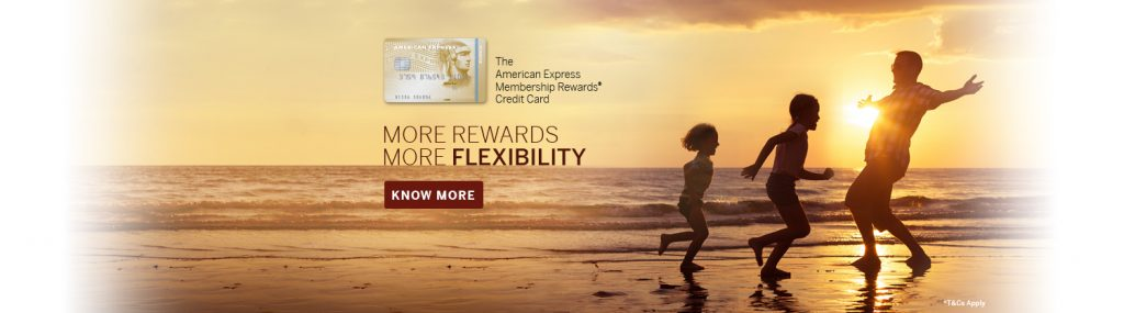 Five reasons to have an American Express Membership Rewards Credit Card.