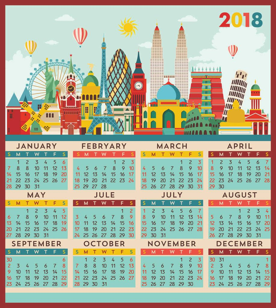 travel calendar, how to plan your travel