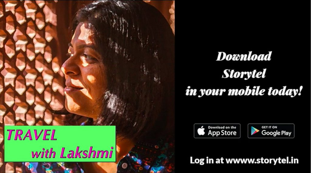 Travel With Lakshmi ? Now on Podcast on Storytel