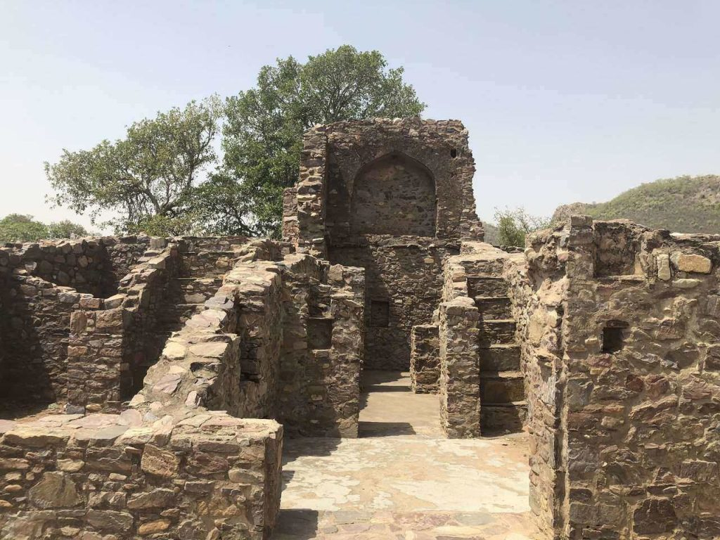Bhangarh Fort Rajasthan, ghost towns in India, top ten haunted places in India