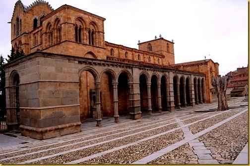 basilica de san vicente-avila-y